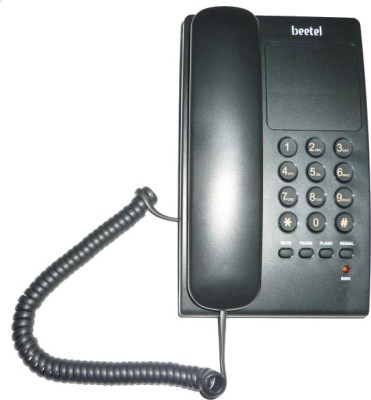 Beetel B17 Corded Landline Phone(Black)