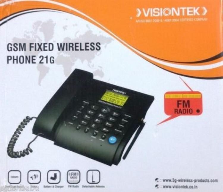 corded landline phone with answering machine