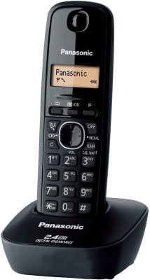 Panasonic KX- TG3411SX Cordless Landline Phone(Black)