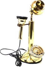 Artondoor Table Brass Telephone Corded Landline Phone