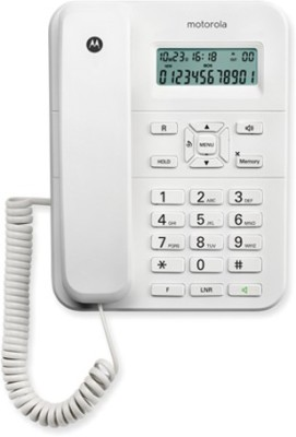 Motorola CT 202 WHITE Corded Landline Phone