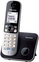 Panasonic KX-TG6811FXB Cordless Landline Phone(Black)