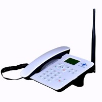 Wibridge RM2G102 Corded Landline Phone(White)