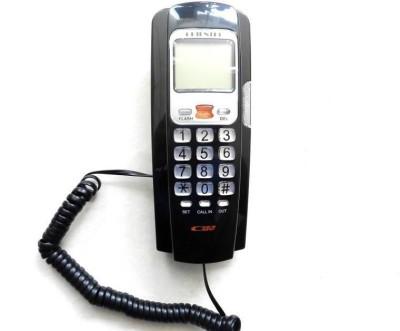 Italish NM-TS321MN Corded Landline Phone(Black)