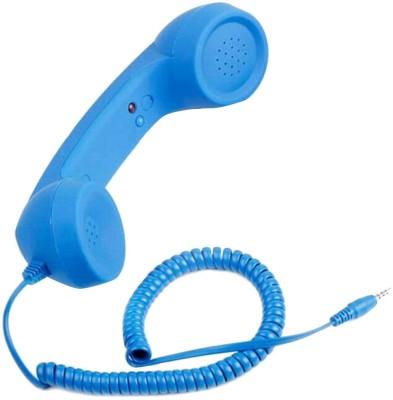 Flintstop Anti Radiation Corded Landline Phone(Blue)