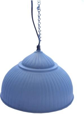 Peacock Life Blue Steel Lantern