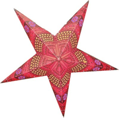 Encore Star Red Paper Christmas Star(30 cm X 25 cm, Pack of 1)