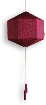 Brownfolds Maroon Paper Lantern