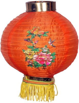 lipax Orange Nylon Lantern