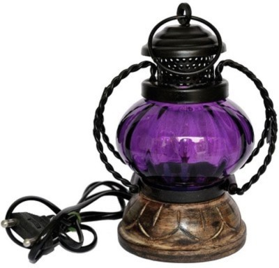 Onlineshoppee AFR613 Table Lamp(20 cm, Purple)