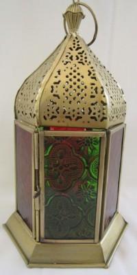 Vandna Wellspring l004 Pink Iron Lantern