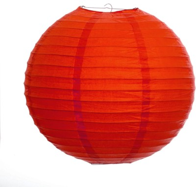 Skycandle 10″ Red Round Paper Craft Red Paper Lantern