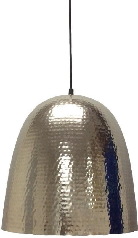 Yudezine Silver Silver Lantern(36 cm X 26 cm, Pack of 1)