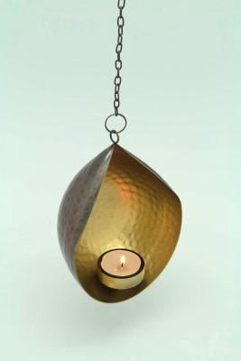 Imli Street Gold Brass Lantern