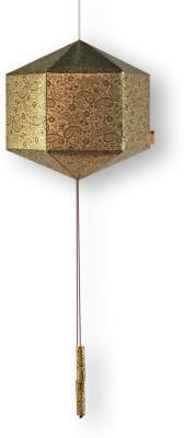 Brownfolds Brown, Gold Paper Lantern