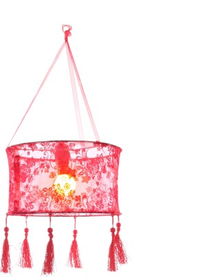 My Party Suppliers Diwali Kandil Red Polyester Lantern