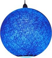 Salebrations Handmade Blue Cotton Lantern(25 cm X 25 cm, Pack of 1)