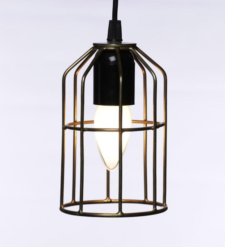 Tezerac Gold Silver Lantern(15.24 cm X 10.16 cm, Pack of 1)