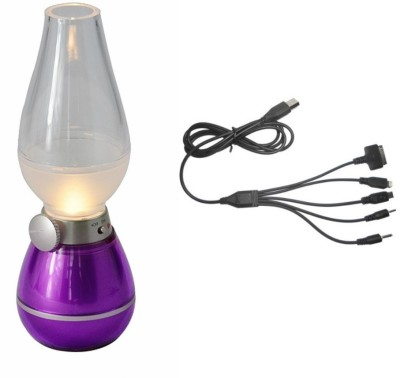 technofirst solution Purple, Black Plastic Lantern