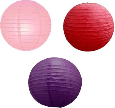 Santa Stores Chinese Pink, Purple, Red Paper Lantern