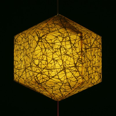 Brownfolds Beige Paper Lantern