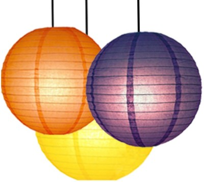 Skycandle Yellow, Orange, Purple Paper Lantern