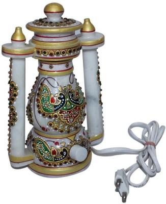 krishna art marble gold Night Lamp