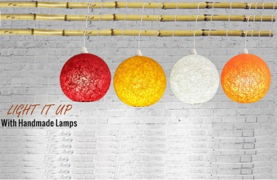 Skywoods Red, Yellow, White, Orange Nylon Lantern