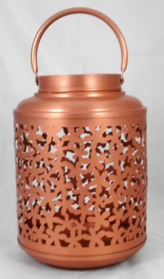 ShellysTrends Brown Iron Lantern