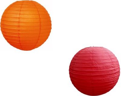 Santa Stores Chinese Red, Orange Paper Lantern