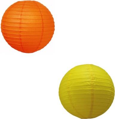 Santa Stores Chinese Yellow, Orange Paper Lantern