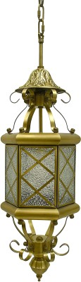Royale Lights Gold Brass Lantern