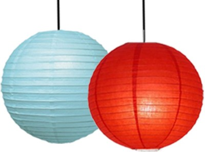 Skycandle Red, Blue Paper Lantern