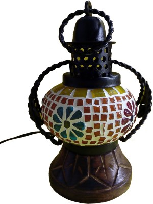 Excellent Enterprises Decorative Hanging Multicolor Wooden, Iron Lantern