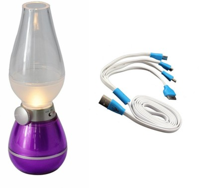 technofirst solution Purple, White Plastic Lantern