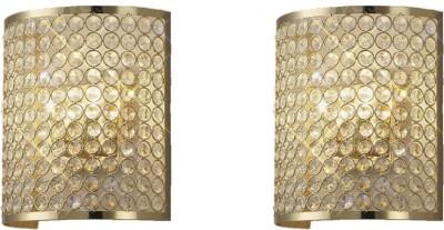 Inspiration World Crystal Wall Light Steel Iron Lantern