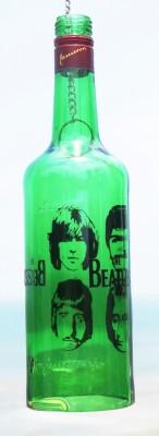 10 Am Green Glass Lantern