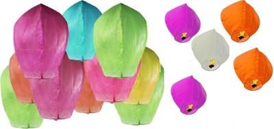 GI Retails Multicolor Paper Sky Lantern