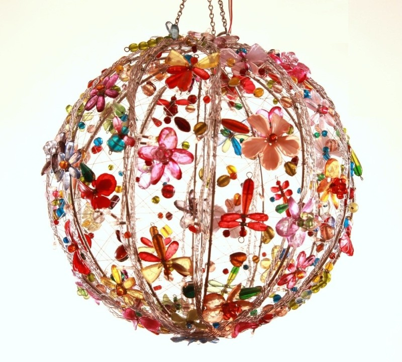 Kanhai Enchanting Multicolor Stainless Steel Lantern(30.5 cm X 30.5 cm)