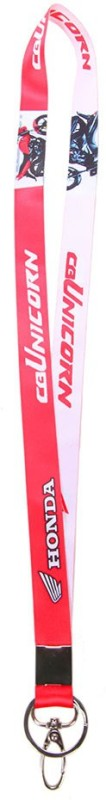 Merchant Eshop Honda Unicorn Lanyard(Red)