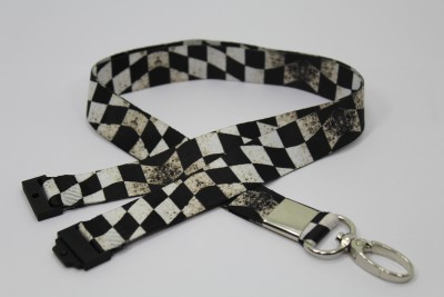 Weird Wolf WW-OS-02 Lanyard(Black)