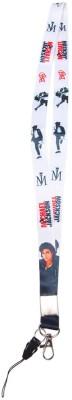 Merchant Eshop Michael Jackson Lanyard(White)