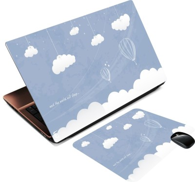 Print Shapes Ballons in Sky Combo Set