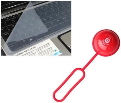 QP360 Keyboard Skin 14inch,bluetooth remote shutter ball Combo Set