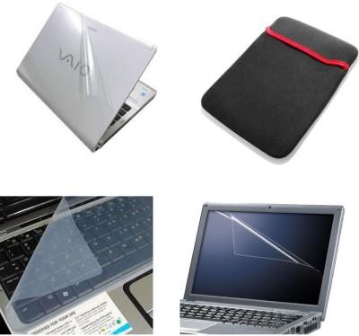 Psycho Art 4 In 1 Combo Laptop Skin, Sleeve, Screen & Key Guard Combo Set