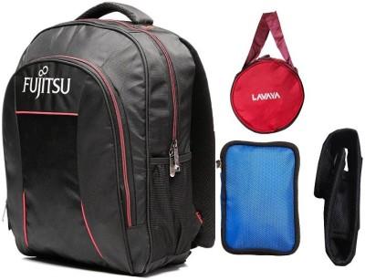 Fujitsu 15.6 inch Laptop Backpack Combo Set