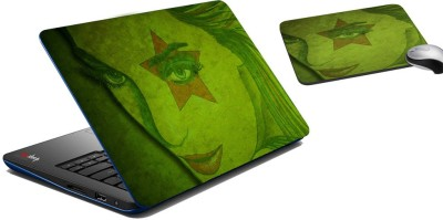 meSleep Star Eye Laptop Skin And Mouse Pad 304 Combo Set