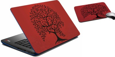 meSleep Tree Laptop Skin And Mouse Pad 313 Combo Set