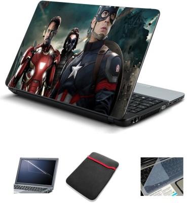 Psycho Art Captain America Series 250320 Combo Set