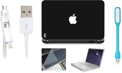 Print Shapes White Apple Combo Set